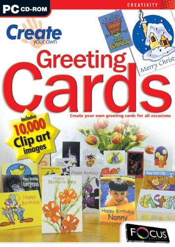 Create Your Own Greeting Cards Amazoncouk Software