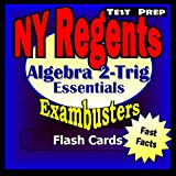img - for NY Regents Algebra 2-Trigonometry Test Prep Review--Exambusters Flashcards: New York Regents Exam Study Guide (Exambusters Regents Book 7) book / textbook / text book