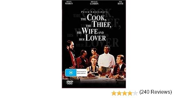 Cook The Thief His Wife & Her Lover Edizione: Australia Italia DVD ...