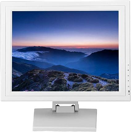 ASHATA Monitor Táctil LCD, Pantalla Táctil de Caja Registradora ...