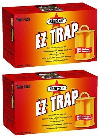 Farnam 2 Pack of Starbar Ez Trap Fly Traps