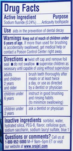 Orajel Spider-Man Anticavity Fluoride Toothpaste, Berry Blast, 4.2 Oz by Orajel (Image #4)