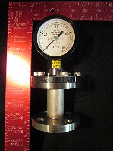Kurita Water 75 0 0 4Mpasus316 15Aff Pressure Gauge 75Mm 0 0 4Mpasus316 15Aff  Diaphragm  Migishita Seiki