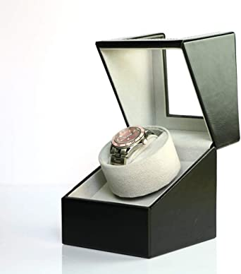 Caja giratoria para Relojes Individual Mira Enrollador For Relojes Automáticos Automática Winder CG624 (Color : Black): Amazon.es: Relojes