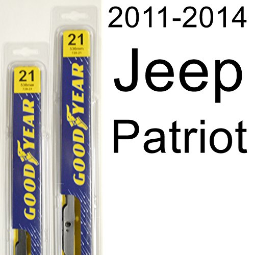 Jeep Patriot (2011-2014) Wiper Blade Kit - Set Includes 21