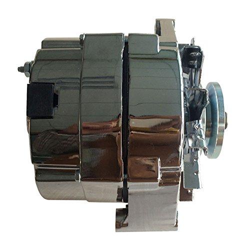 chrome alternator chevy - 7