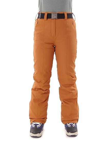 aa9ceed858ef CMP Pantalon de Ski Pantalon de Snowboard Neige Marron Ceinture imperméable  Pantalon Stretch Taille 38 3 W05526  Amazon.fr  Sports et Loisirs