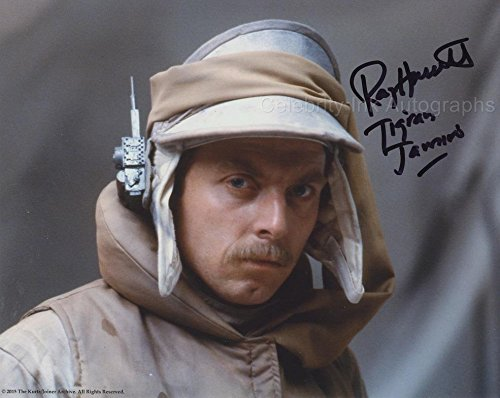 RAY HASSETT as Tigran Jamiro – Star Wars: The Empire Strikes Back GENUINE AUTOGRAPH