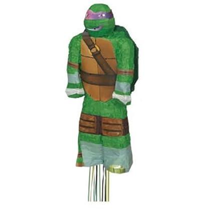 Amazon.com: Teenage Mutant Ninja Turtle Pull String Pinata ...