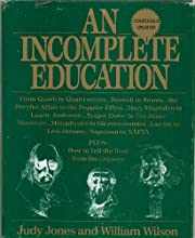 An Incomplete Education - From Quart to…