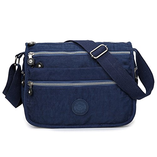 Las-mujeres-impermeable-Nylon-bolsas-de-mensajero-Cruz-cuerpo-hombro-bolsas-Casual-Multi-bolsillo-bolso-Tote-Bolso-de-mano-caliente