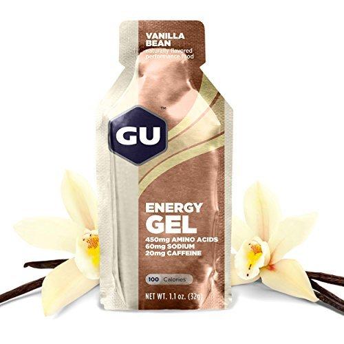 GU Original Sports Nutrition Energy Gel, Vanilla Bean, 8-Count by GU Energy Labs (Gu Energy Labs Original compare prices)