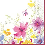 Ideal Home Range 20-Count Boston International 3-Ply Paper Cocktail Napkins, Villeroy and Boch Mariefleur