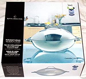 Amazon Com Royal Doulton Professional Cookware Stainless