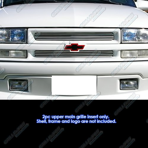 APS Fits 98-04 Chevy S-10/98-05 Blazer Main Upper Billet Grille Insert #C65705A ()