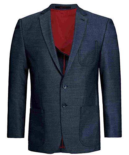 Homme Blau Homme Blazer Strukturiert Greiff Blazer Greiff Blau x6n4gqHpw