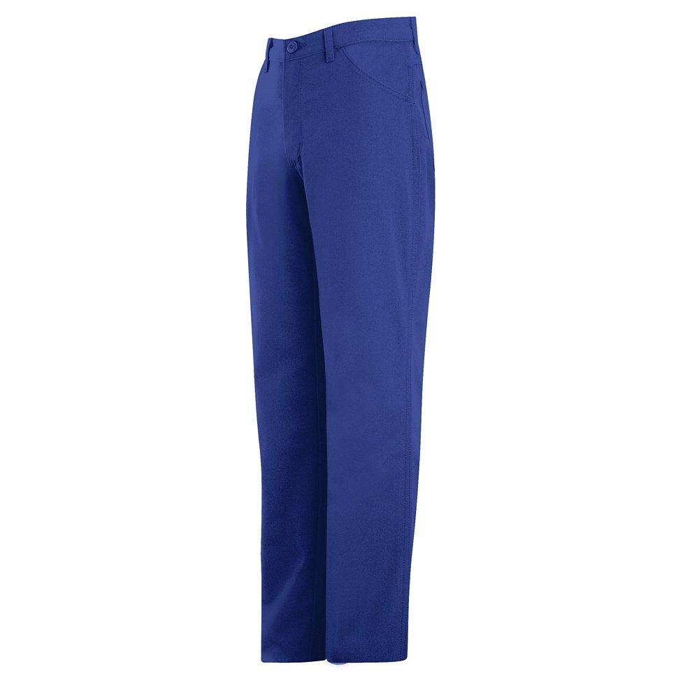 Bulwark Jean-Style Pant, Nomex IIIA, ROYAL, 4437U PNJ8RB-44-37U by Bulwark FR