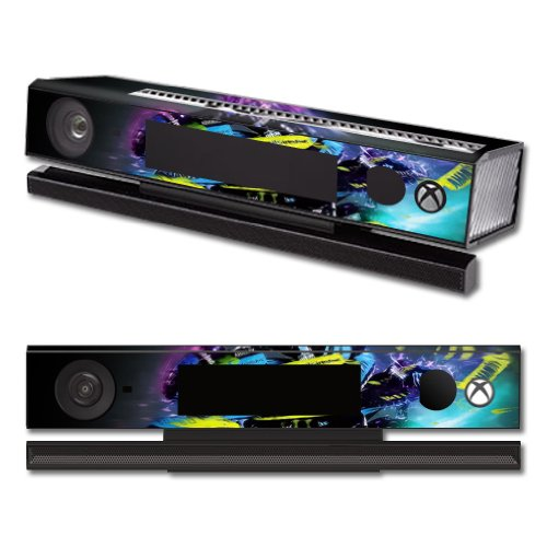 MightySkins Protective Vinyl Skin Decal Cover for Microsoft Xbox One Kinect wrap sticker skins Sportbike
