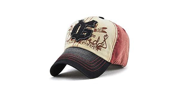 Sombrero Lady Spring Gorra de béisbol Visera Gorra Vino Rojo ...