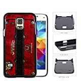 Red Color Dirty Grunge Honda JDM Vtec Samsung Galaxy S5 (MINI) SM-G800H Hard Snap on Plastic Cell Phone Case Cover