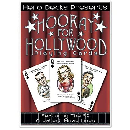 Amazon.com: HERO Decks – HOORAY for Hollywood – Juego de ...