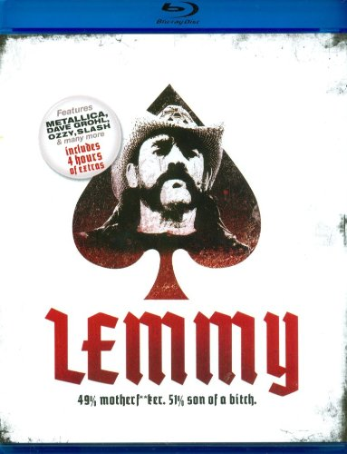Blu-ray : Dave Grohl - Lemmy: 49% Motherf**Ker, 51% Son Of A Bitch (Digipack Packaging)