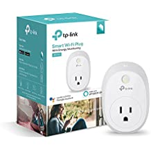 Kasa Smart Wi-Fi Plug w/Energy Monitoring by TP-Link - Control your Devices from Anywhere, No Hub Required, Works with Alexa and Google Assistant (HS110)