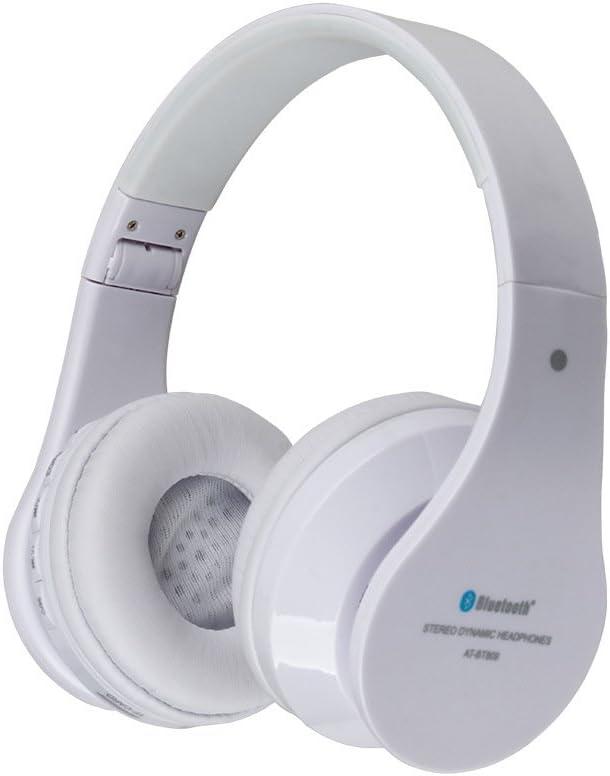 AIAT AT BT809 Auriculares inalámbricos con Bluetooth para