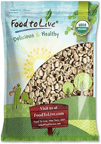 Organic Fava Beans, 10 Pounds - Broad Beans, Non-GMO, Kosher, Raw, Sproutable, Dried Vicia Faba, Bulk Seeds, Product of the USA