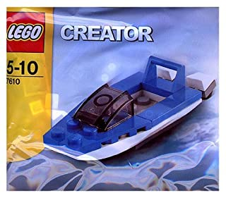 Lego Creator Bagged Set # 7610 Speed ??Boat