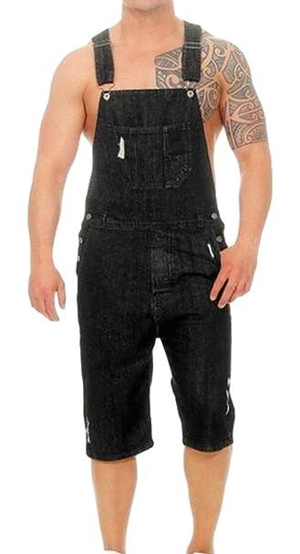 Amazon.com: UUYUK - Pantalones vaqueros para hombre, rectos ...