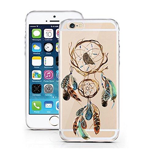 iPhone 7 Caso por licaso® para el patrón de Apple iPhone 7 Gato Negro Gatito Dulce TPU de silicona ultra-delgada proteger su iPhone 7 es elegante y cubierta regalo de coches atrapasueños