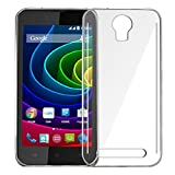 Jkobi Exclusive Soft Silicone TPU Jelly Crystal Clear Case Soft Back Case Cover For Micromax Bolt Q335 -Transparent