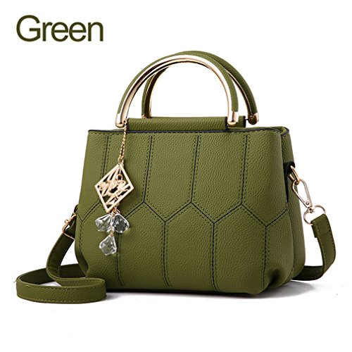 Crossbody Bags For Women Bag Fashion Shoulder Bags Small Handbags Ladies Crystal Woman Bags Green About 24cm 13cm 16cm