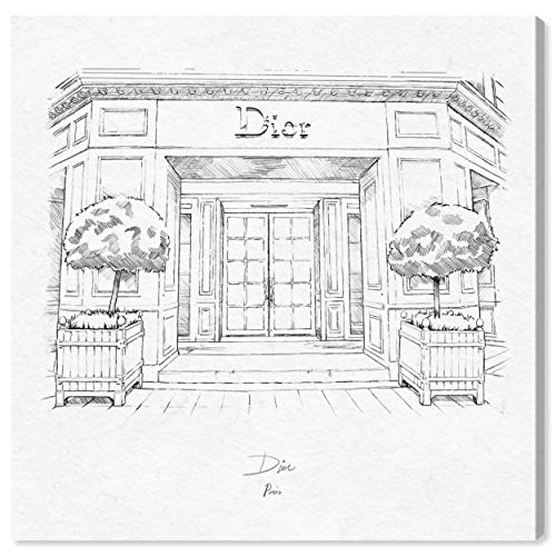 The Oliver Gal Artist Co. Fashion and Glam Wall Art Canvas Prints '30 Avenue Montaigne' Home Décor, 12