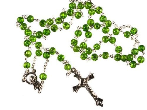 Image result for green rosary
