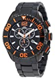 Swiss Precimax Men's SP12176 Deep Blue Pro II Black Dial with Black Stainless Steel Band Watch, Watch Central