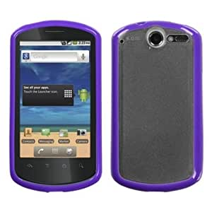 MYBAT HWU8800CASKGM0044NP Sensual Gummy Transparent Protective Case for Huawei Impulse 4G/8800 - 1 Pack - Retail...
