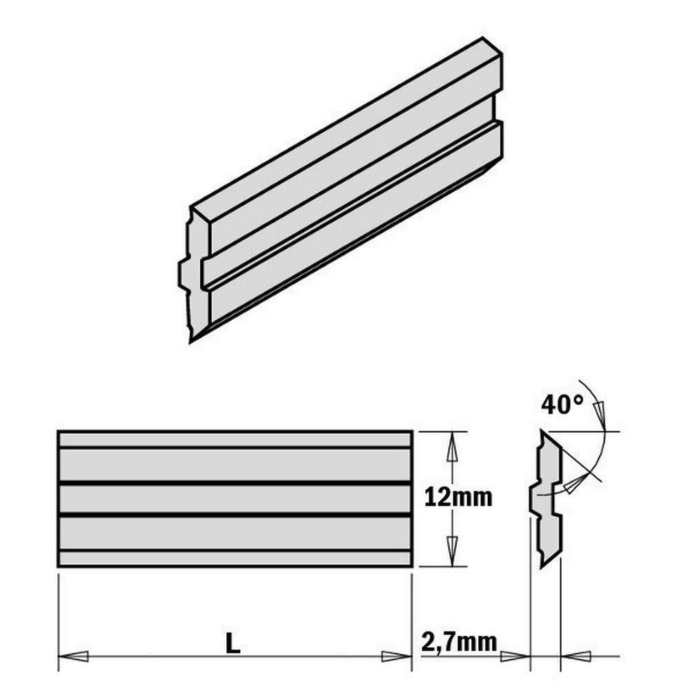 Cmt Orange Tools 795.610.12 – Set von 2 Klingen centrostar Fix, QuickFix 610 x 12 x 2,7 mm HPS B00K6JG1WG | Mittel Preis