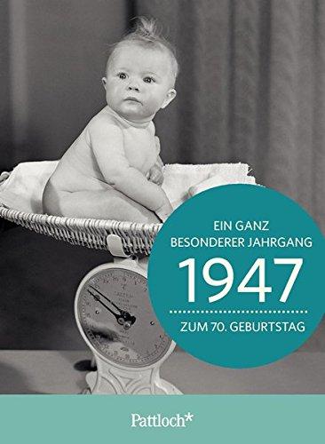 1947 - Ein ganz besonderer Jahrgang Zum 70. Geburtstag: Jahrgangs-Heftchen mit Kuvert
