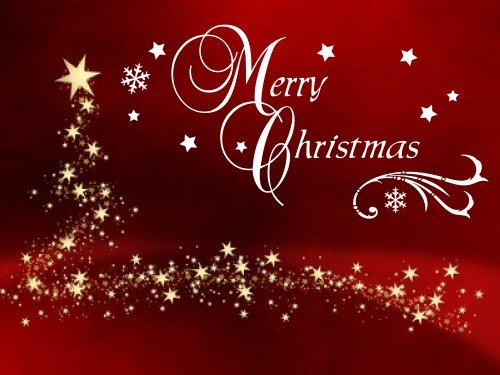 Wandtattoo / Fensterbild für Ihre Weihnachtsdekoration, Text ...