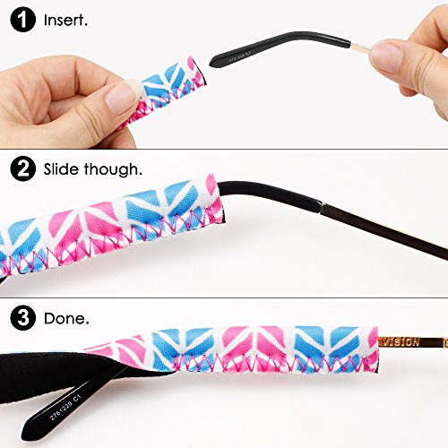 Deportes Retenedor y Hoja Gafas IHUIXINHE Universal Soporte de Actividades de de de Eyewear Exterior Ideal Sol de Correa Sistema para Gafas Retención ST4Iwqa5x4