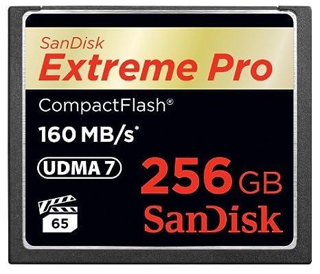 Sandisk Extreme Pro, 256GB - Tarjeta de Memoria (256GB, 256 GB ...