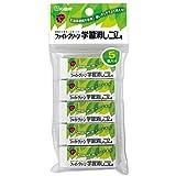 5 pack REP100S-5P Sakura Color Green Fight learning eraser (japan import)