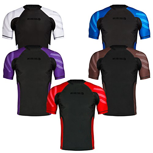 Sanabul Essentials Short Sleeve Compression Base Layer Rash Guard