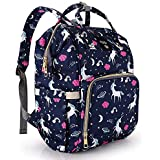 Unicorn Backpack,Wide Open, Multi-Function Waterproof Travel Backpack,Large Capacity, Stylish and Durable,Lightweight,Unicorn Bag for Mom / Dad