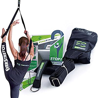 EverStretch Leg Stretcher: Get More Flexible with The Door Flexibility Trainer PRO Premium Stretching Equipment for Ballet, Dance, MMA, Taekwondo & Gymnastics. Your own Portable Stretch Machine!
