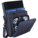 PS4 Bag, Hard case for PS4 and PS4 Slim,Store and Carry Sony Playstation 3&4, Gaming Accessories Handbags/,Laptop Storage Bag Console Carrying Hard Case by win-digital