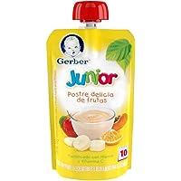 Gerber Junior Snack Postre Delicia de Frutas, Etapa 3 (Paquete de 12)