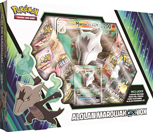Cards Direct Promo Code (Pokemon Cards TCG: Alolan Marowak-Gx Box + 4 Booster Pack + A Foil Promo Card + A Foil Oversize)